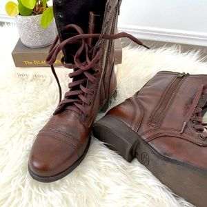 Steve Madden Size 7 Troopa Combat Boots